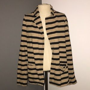Forever 21 striped blazer